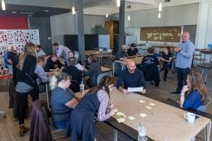 Kelowna coLab Coworking Town Hall Event